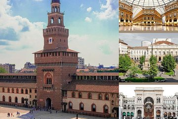Milan: Guided Tour of Sforza Castle and Duomo with Tickets