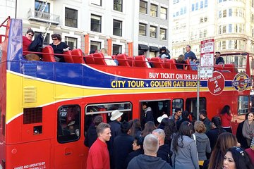 San Francisco Hop-On Hop-Off 2 Day pass