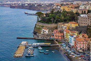"""Full Day Amalfi Coast: """"Sorrento and Positano"""" Transfer from Naples"""
