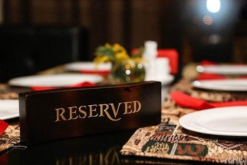 Table reservation at the premium restaurant