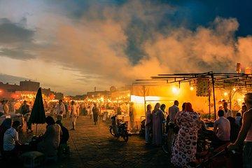 2 Hour Marrakech Walking Night Tour