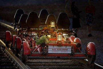 Evening Lantern Railbike Ride and Train Ride in Boulder City, NV