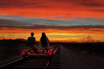 Sunset Railbike Ride and Train Ride in Boulder City, NV
