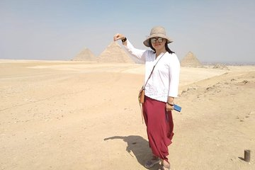 Save 10.00%! Giza Pyramids, Camel Ride, Quad Bike, Night and Dinner Cruise on Nile