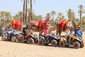 3 hour Marrakech Combined Camel Ride & Quad Bike Tour