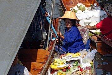 Private Damnoen Saduak Floating Market & Chatuchak Weekend Market Day Tour