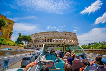 Rome Hop on Hop off with Skip-the-line Colosseum Tour