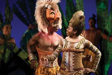 The Lion King On Broadway Ticket