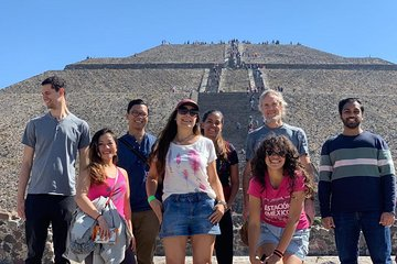 Small-Group Teotihuacan Pyramids from Mexico City Tickets