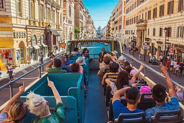Explore Eternal City by Big Bus and Skip Line to Colosseum
