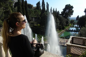 Villa D'Este Fountains and Gardens Skip-The-Line Tickets Included from Rome
