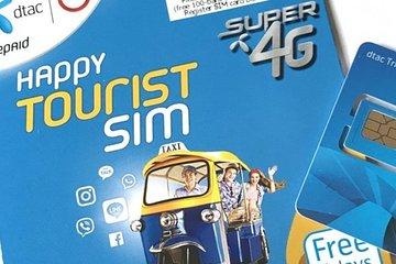 Thailand DTAC 4G SIM Card (Bangkok Airport Pickup)