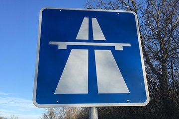 The legendary German Autobahn - experience it in one of the best limousines in the world
