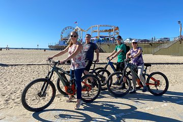 Santa Monica to Marina Del Rey e-Bike Beach Tour