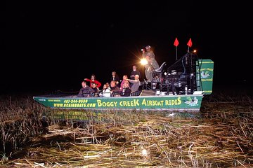 1-Hour Evening Airboat Ride