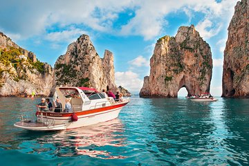 Capri Island small group Day Tour by Boat from Sorrento