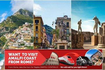 From Rome to Tour Positano + Sorrento...