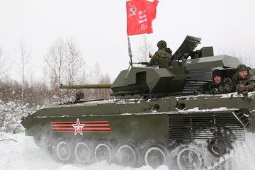 Panzertour in Makarovo
