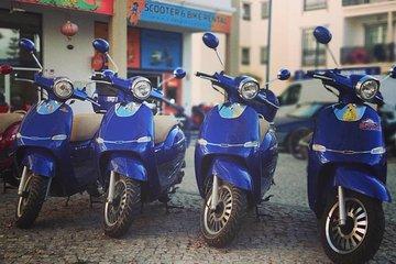 Alquiler de scooter privado en Albufeira por 1 día con recogida en el hotel
