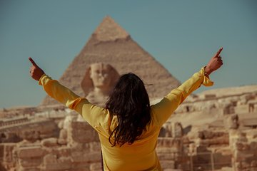 Save 5.01%! Private DAY TOUR TO GIZA PYRAMIDS,SPHINX WITH ENTRY inside the Great Pyramid