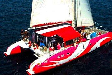 Private Riviera Cruise on Flashy Catamaran - up to 28 Passengers!