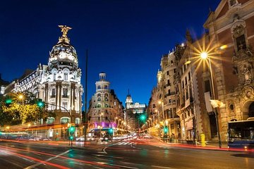 Night Tour in Madrid with Flamenco Show