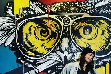 Bohemian Street Art and Food Tour in Budapest