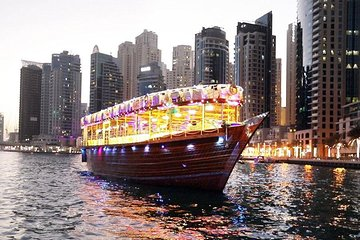 Dhow Dinner Cruise at Dubai Marina (Without Transfers)