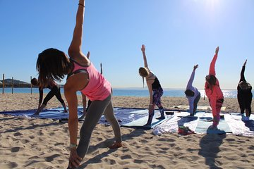 Yoga and Brunch on the beach