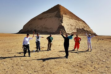 Day Tour to Memphis and Dahshur with Egyptian Lunch from Cairo