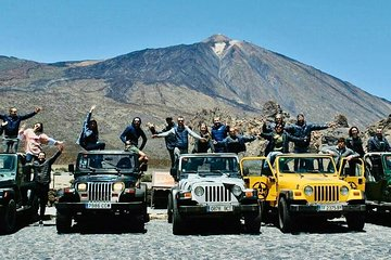 VIP JEEP TOUR VOLCANO TEIDE DAY, Food & Drinks included!