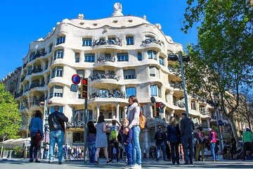 Barcelona Exclusive - Skip the Line: Casa Milà Ticket & Audio Guide Tour