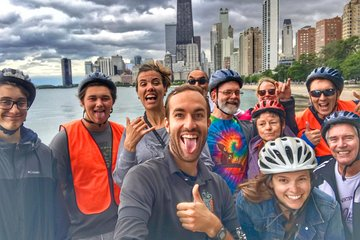Chicago Sites at Night Bike Tour