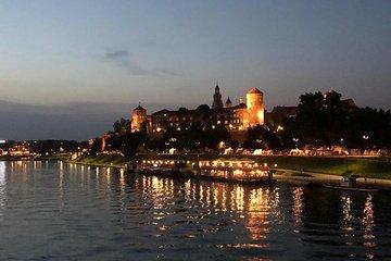 Krakow by night 60 minutes cruise The Vistula River Krakow