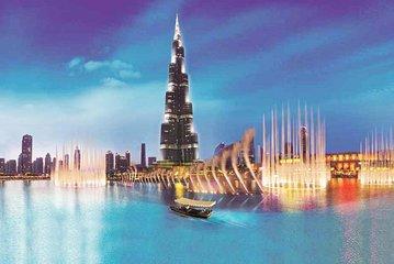 Dubai Fountain Lake Ride Ticket