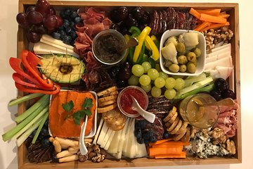 Build A Catalan Charcuterie Cheese Board & Wine Pairing (V/VG Options)