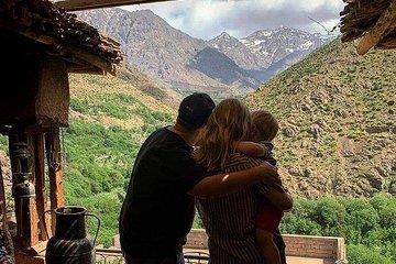 Atlas Mountain&desert Agafay 2 waterfalls 3 valleys from marrakech & Camel ride