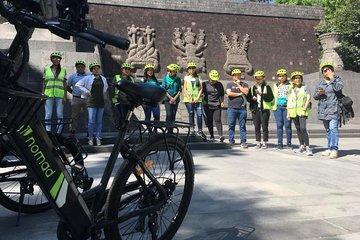 COMBO TOUR 1A Mexico City Highlights by E-Bike & Cantinas Walking Tour