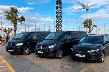 Malaga Airport (AGP) to Malaga - Round-Trip Private Car Transfer