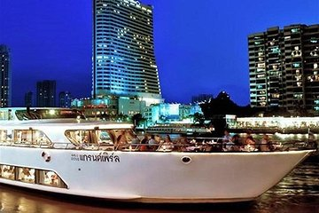 Amazing Sunset & Dinner Cruise by Grand Pearl with Return Transfer