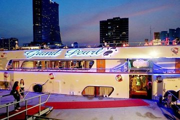 Amazing Sunset and Dinner Cruise by Grand Pearl Admission Ticket