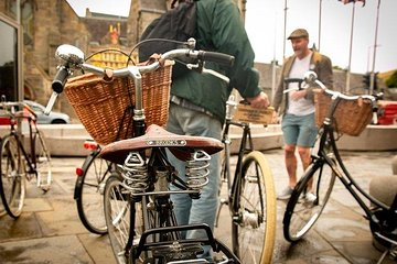 Cycle Tour of Edinburgh's Hidden Gems on Classic British Bikes