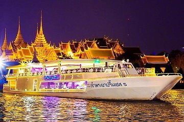 Chao Phraya Princess Dinner Cruise at Bangkok Admission Ticket
