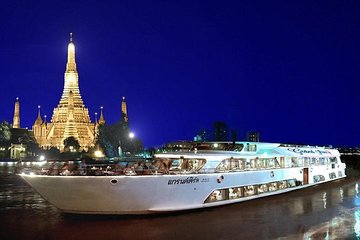 Grand Pearl Luxury Dinner Cruise at Bangkok Admission Ticket