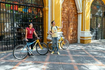 The Beauty of Coyoacan by Bike Private Tour with a Local