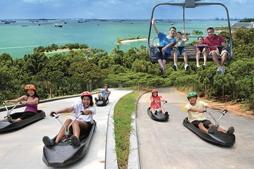 Skyline Luge Entry Ticket in Sentosa
