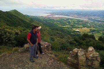 Point culminant du territoire basque / français