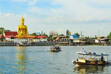 Bangkok Island Hopping Tour mit Mittagessen und Massage
