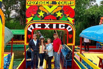 Full-Day Tour to Xochimilco, University City and Coyoacán