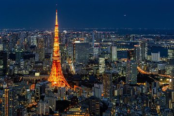 Tokyo Tower Observatory Admission Ticket